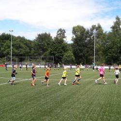 Voetbalclinic in Vilsteren
