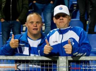 Jan Willem en Rene juichen voor PEC Zwolle