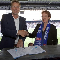 Regio Zwolle United en Hogeschool Windesheim verlengen samenwerking voor onbepaalde tijd