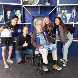 Verrassingsbezoek voor PEC Zwolle fan opa Wim