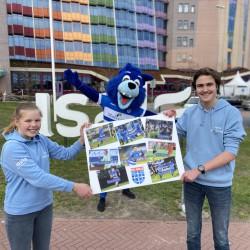 Een een-tweetje tussen PEC Zwolle United en Isala Kinderraad