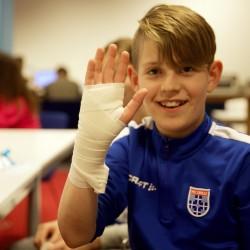 Veiligheidsregio IJsselland verzorgt EHBO-les voor kinderen