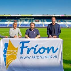 Regio Zwolle United en Frion verlengen 16-jarige samenwerking