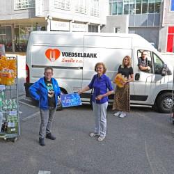 Prikactie voor Voedselbank Zwolle eo
