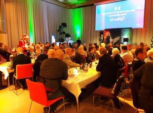 Kerstdiner voor senioren bij PEC Zwolle