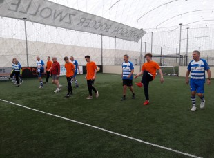 Walking Football tijdens CaloDoet!