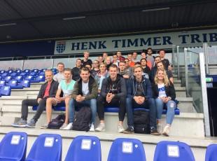 Studenten Deltion College krijgen kijkje in het trainersvak bij PEC Zwolle Vrouwen