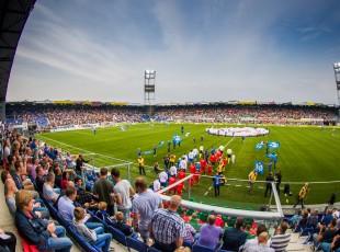 Thuiswedstrijden PEC Zwolle (Vrouwen)