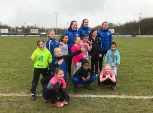 Clinic bij Asser Boys door PEC Zwolle Vrouwen