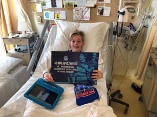 Verrassing voor jonge patiëntjes Isala